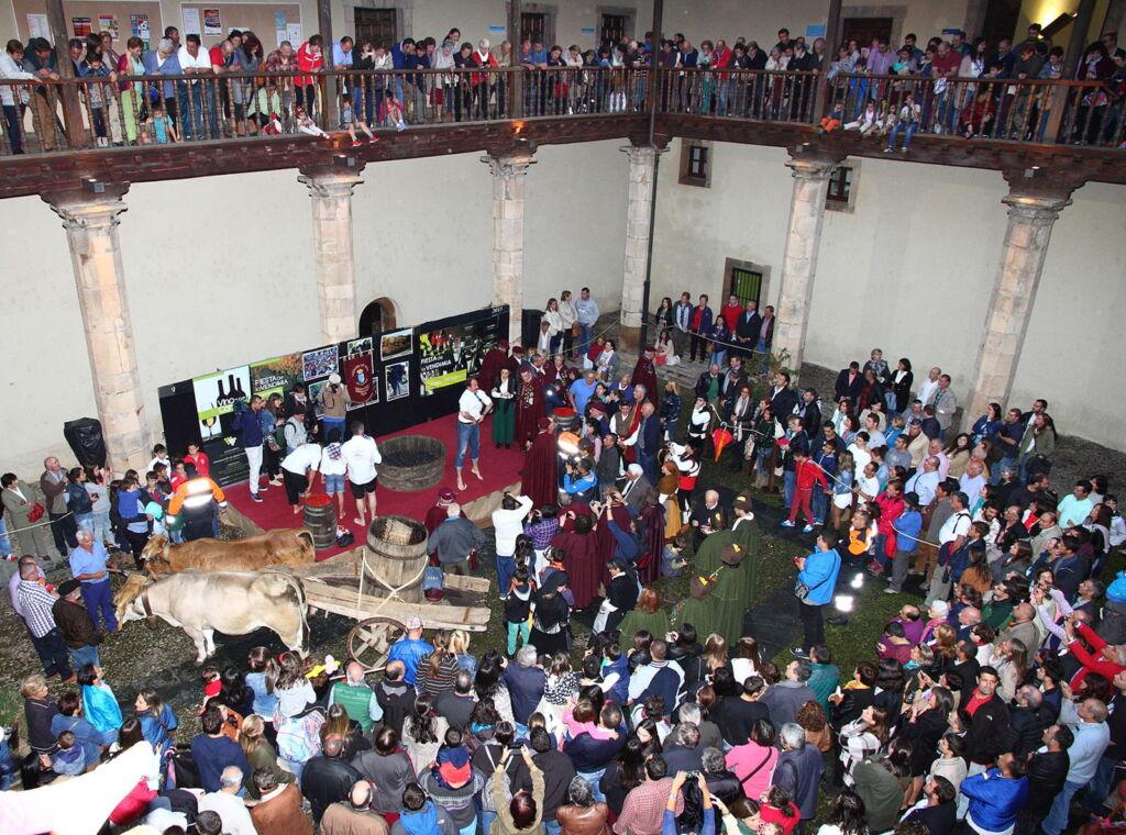 Fiesta de la Vendimia Cangas del Narcea (Octubre)